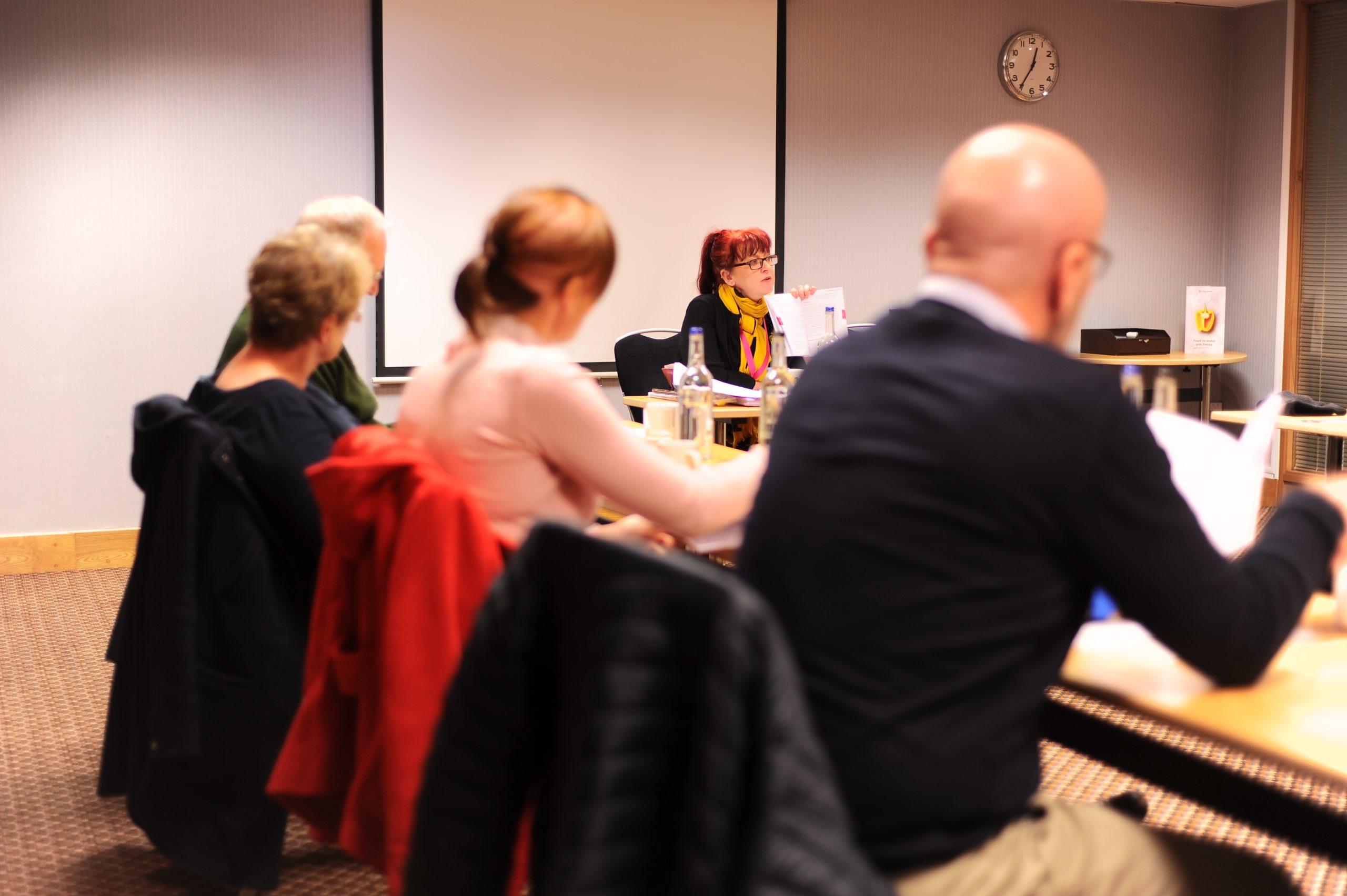 brainstrust patients at workshop